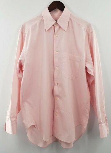 CORNELIANI Men's Pink Cotton Dress Shirt Size Med… - image 1