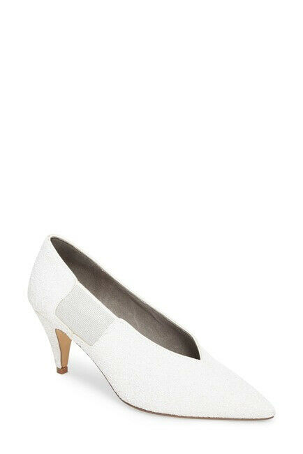Free People Womens Florence 17 OB742479 Heels Pointed White Size UK 4
