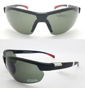 4f8c9ef2bc Image is loading NEW-Suncloud-sunglasses-Switchback-Matte-Black-Grey- Polarized-