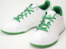UK SIZE 11.5 - ADIDAS PERFORMANCE ORACLE VI STR TRAINERS - WHITE / GREEN