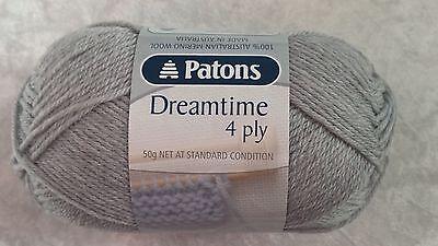 Patons Yarn Merino Extrafine 4 Ply 50g Ball White