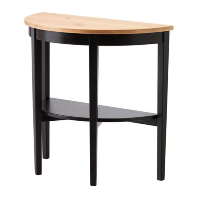 Ikea Arkelstorp Console Table Black 703 541 30 For Sale Online Ebay