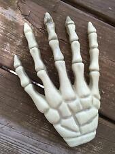 Skeleton Boney Hand Hard Plastic Detailed Halloween Decoration Prop NEW