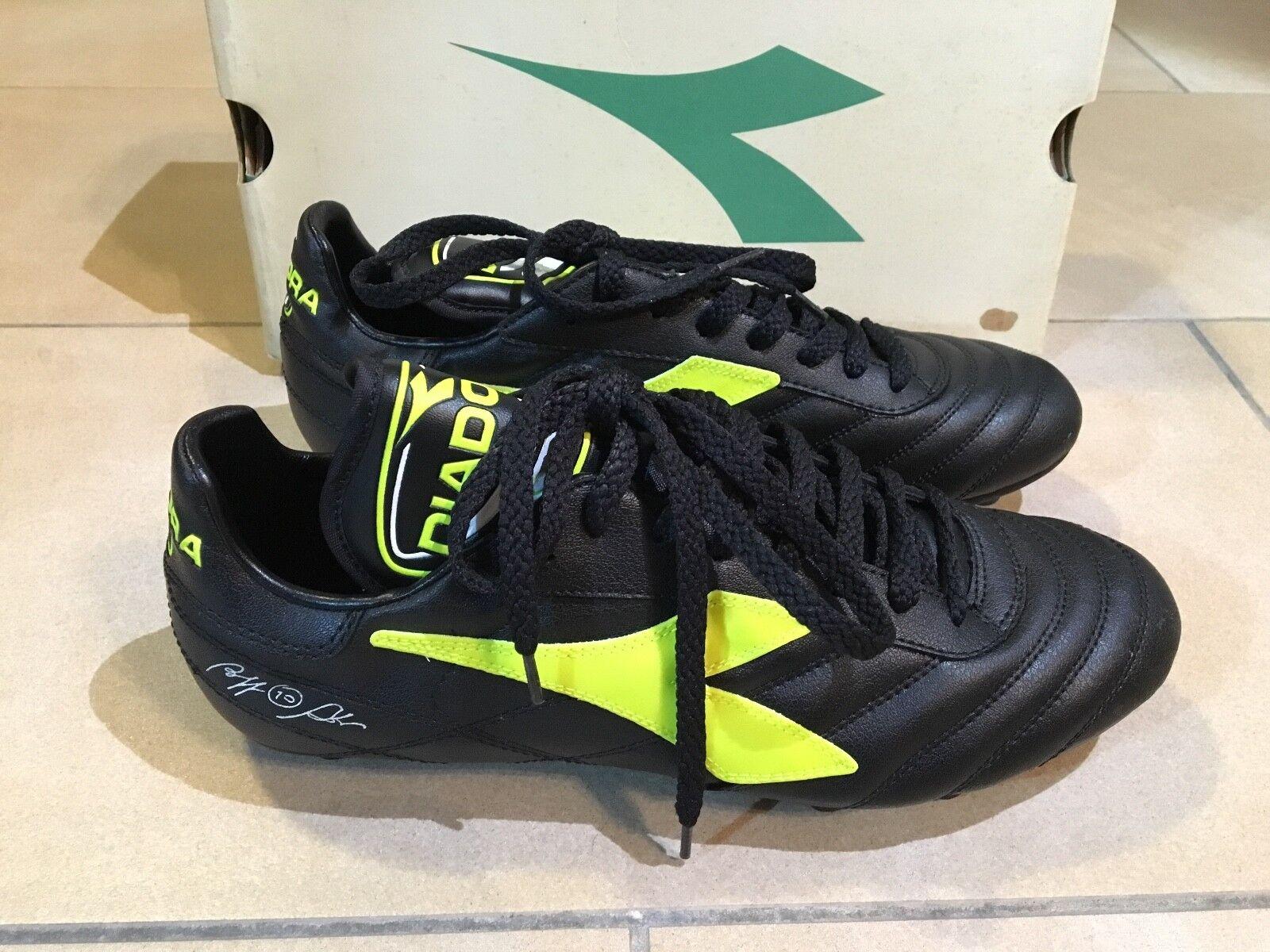 DIADORA GOAL R.B. MD Zapatos DA CALCIO CALCIO CALCIO ROBERTO BAGGIO tg. 10 uk - 44 .5 44.5 eur 748855