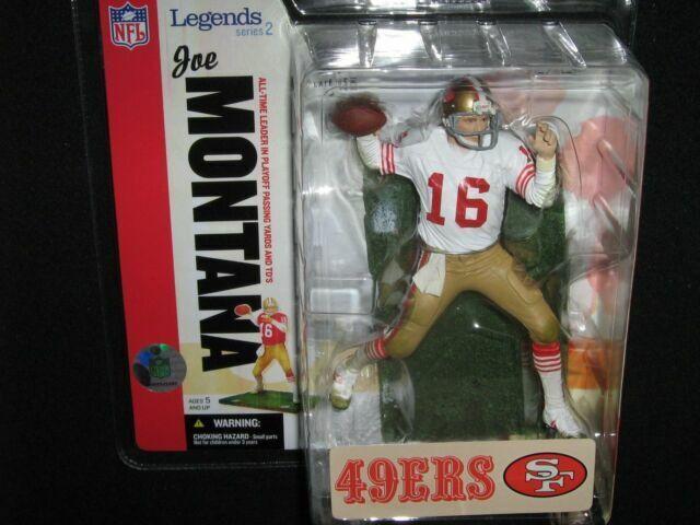 2007 McFarlane Sports Picks NFL Legends San Francisco 49ers 3-Pack White Jersey Variant McFarlane Toys
