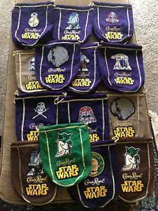 Star Wars Logo'd CROWN ROYAL BAG (mixed colors)