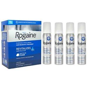 ROGAINE-MINOXIDIL-FOAM-5-UOMO-TRATTAMENTO-SPRAY-ANTICADUTA-RICRESCITA-4-MESI