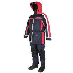 S Sundridge Angeln Schwimmanzug Floating Suit Gr Crossflow Extreme 2-Teiler