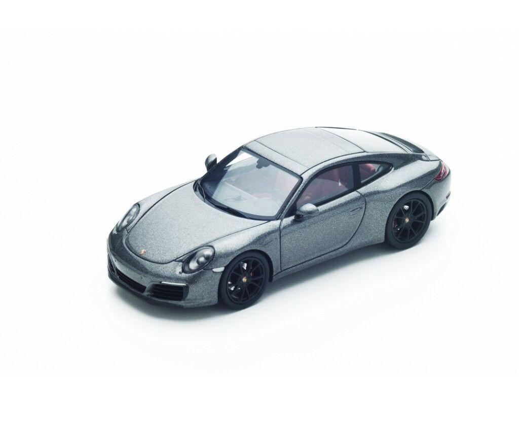 Porsche 911 991 II voiturerera S  gris s4936 Spark 1 43 nouveau in a Box  vente discount en ligne