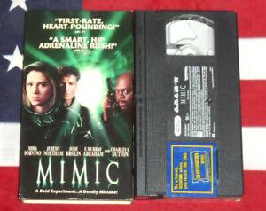 Mimic-VHS-1998-Mira-Sorvino-Guillermo-Del-Toro-Sci-Fi-Horror-Video-Rare