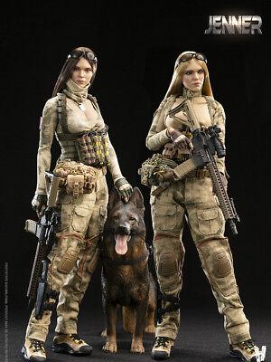 Em estoque 1//6 verycool VCF-2037 Tac Fighter Group Duplo Mulheres Soldado-Jenner
