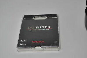 F-S-Exc-Sigma-DG-Filter-UV-72mm-Ultra-low-Reflection-Multi-Coating-from-Japan-2