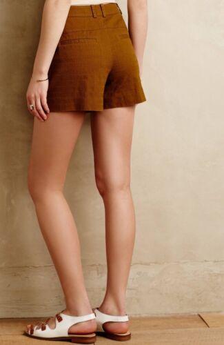 Chartreuse misura altezza Anthropologie 10 taglia Pantaloncini Rise New su ad w4UzzI