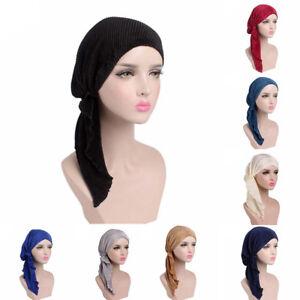 Eg-Femme-Froissage-Long-Turban-Tete-Enveloppant-Chimio-Bonnet-Mousseline-Hijab
