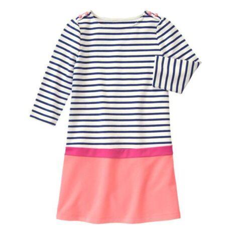 NWT GYMBOREE EVERYDAY FAVORITES Striped Shift DRESS 4 5 Choose