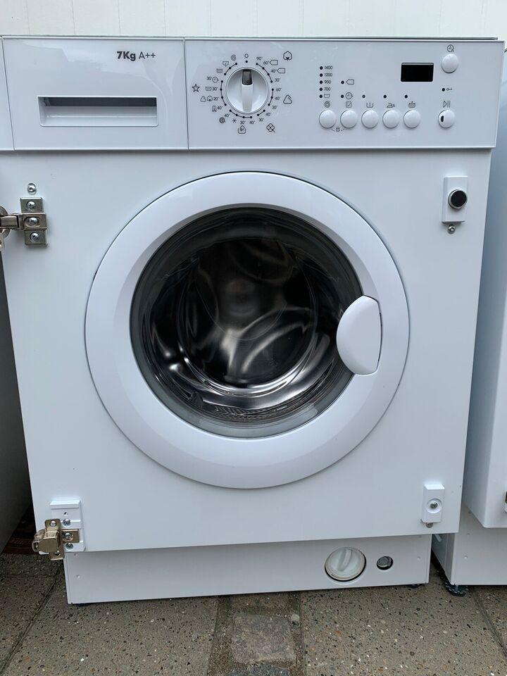 Andet mærke vaskemaskine, frontbetjent, energiklasse