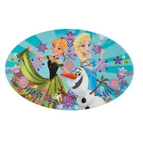 Disney-Store-FROZEN-Elsa-Olaf-Anna-Table-Place-Mat-Princess-Dinnerware-Gift-NEW