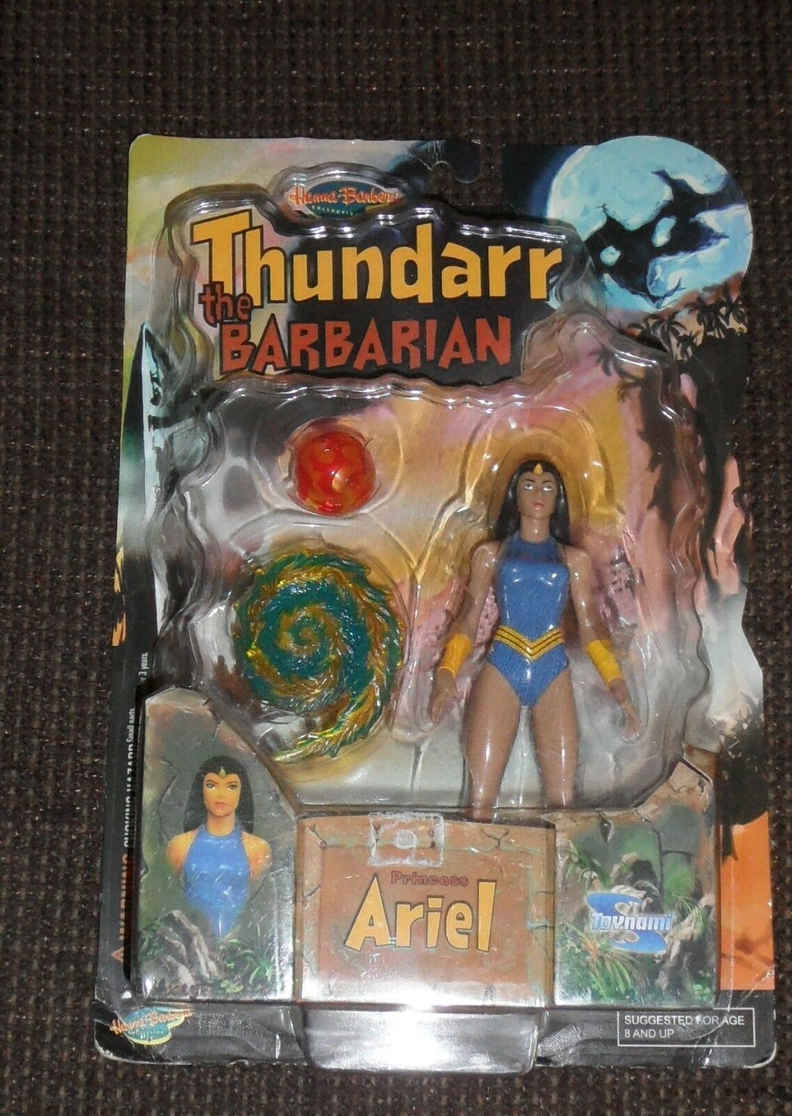Thundarr the Barbarian Princess Ariel 2003 Toynami Action Figure