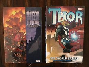 The World Eaters Balder the Brave Marvel Comics HC Hard Cover New Sealed Thor