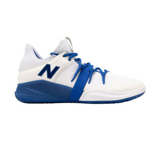 basketball shoes white and blue