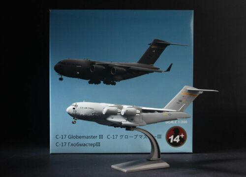 Diecast Model Boeing C-17 Globemaster III 1//200 USAF Alloy Wing Toy Home Decor