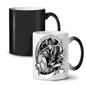 Spartan Warrior NEW Colour Changing Tea Coffee Mug 11 oz | Wellcoda