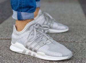 Nuevo adidas EQT Support ADV primeknit zapatilla hombre blanco  gray blanco hombre tallas 4919e5