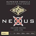 4 for 3 Bundle Rotosound Nexus NXA11 Phospor Bronze Acoustic Strings