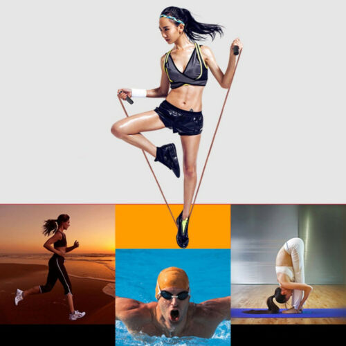 Pro Leather Skipping Speed Rope Fitness Gym Boxing Jump Exercise Athletics Gear