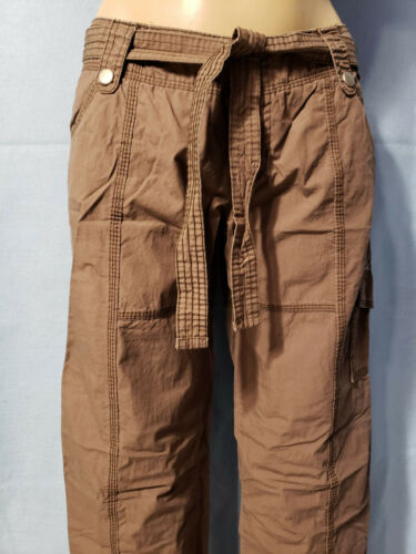 New Mossimo Junior Girl/'s Brown Thin Cotton Pants Size 3
