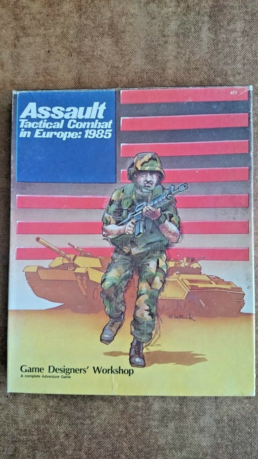 Assault Tactical Combat in Europe 1985 (Unplayed)