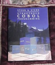 Structured COBOL Programming Nancy B. Stern and Robert A. Stern 1994 #03