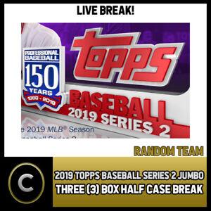2019-TOPPS-BASEBALL-SERIES-2-JUMBO-3-BOX-HALF-CASE-BREAK-A238-RANDOM-TEAMS