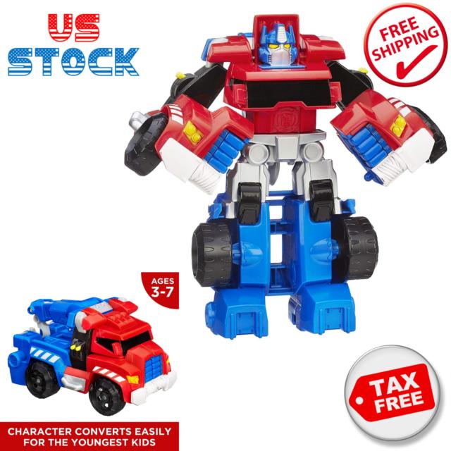 ages 3-7 Playskool Heroes Transformateurs Rescue Bots Optimus Prime ACTION FIGURE
