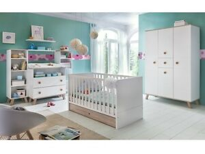 Baby kinderzimmer  Babyzimmer Billund 7 tlg Baby Kinderzimmer Komplettset ...