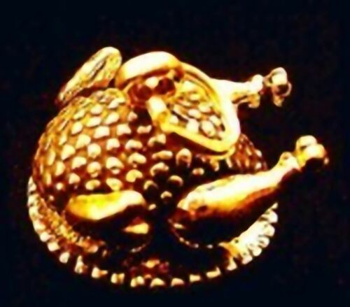 Gold Plated ThanksGiving Day Turkey Dinner Charm