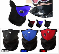 Winter Cold Weather Face Mask With Neck Warmer Neoprene Fleece Skiing Snowboard
