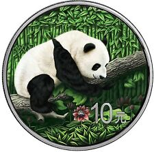 10 Yuan 2016 China - Ounce of Space - Chinese Panda - Nantan Meteorite