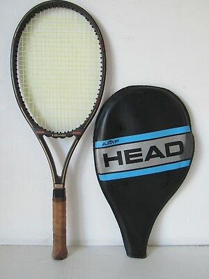 Avere Una Mente Inquisitrice Racchetta Da Tennis Head Amf Anni 70/80 - Vintage Medulla Benefico A Essenziale