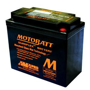 MOTOBATT MBTX20UHD HARLEY DAVIDSON FLSTC 1690 HERITAGE SOFTAIL 2012-17 BATTERY