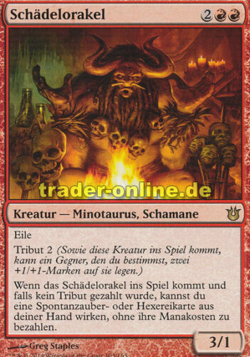 Schädelorakel Oracle of Bones Born of the Gods Magic