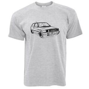 volkswagen golf gti mk2 t shirt ebay. Black Bedroom Furniture Sets. Home Design Ideas