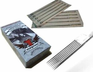 MTS Professional Tattoo Needles - 9RM - Curved Round Magnum - High Quality