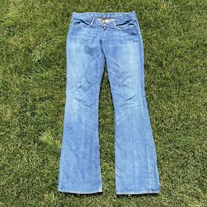 Size-31-EARNEST-SEWN-Womans-Flare-Jeans