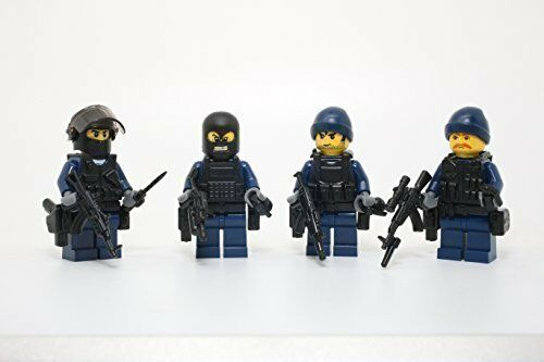 Russian Spetsnaz Squad Special Forces Soldiers made with real LEGO R parts