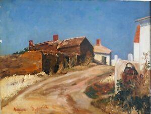 Tableau-Antoine-de-SYPIORSKI-1890-1963-Huile-sur-panneau-v1338