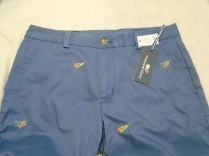 vineyard-vines-Fly-Fishing-Embroidery-Slim-Fit-Breaker-Pants-NWT-34-x-34-125