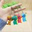 4Pcs-Set-3D-Cute-Cartoon-Dinosaur-Key-Chain-Women-Handbag-Charm-Pendant-Keyring thumbnail 4