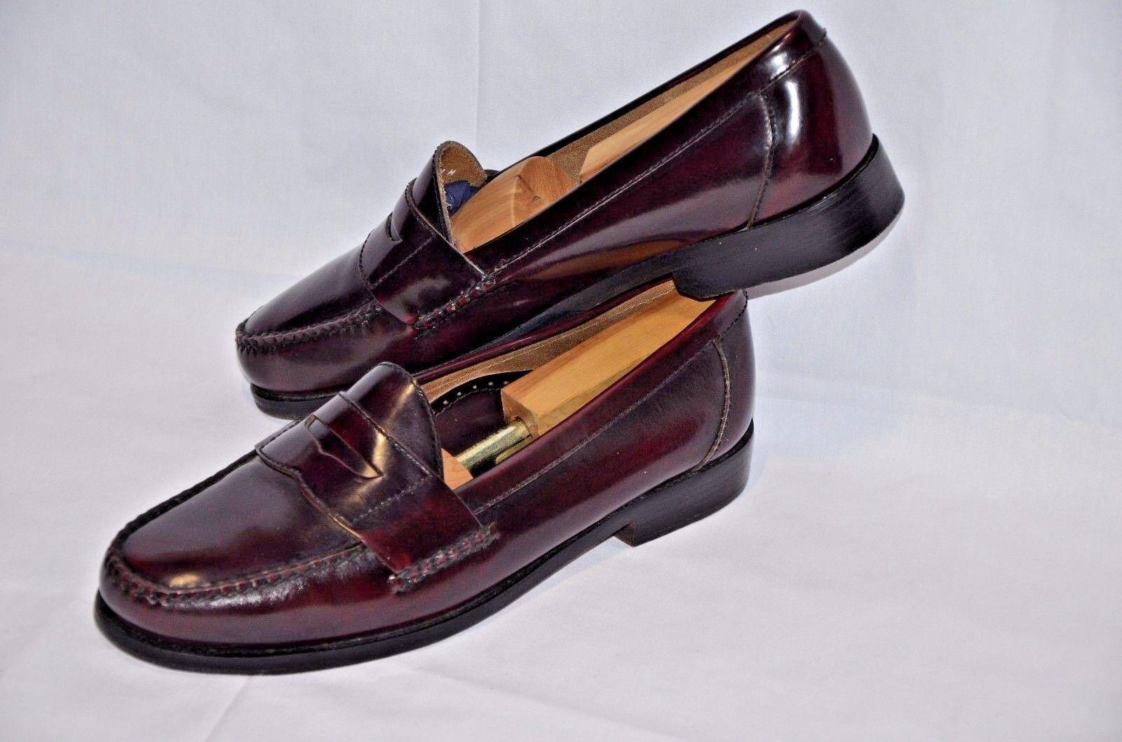 designer online Mint Sherman Brothers Philadelphia burgundy Penny Penny Penny Loafers scarpe Dimensione 12 40-952  marchi di moda