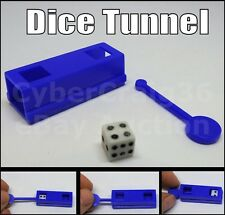 DICE TUBE MAGIC TRICK EASY NEW CLOSE UP DIE TUNNEL NUMBER CHANGE EFFECT PUSH IN